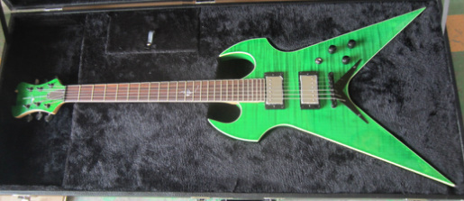 Fireplant Guitars custom Splitsville electric